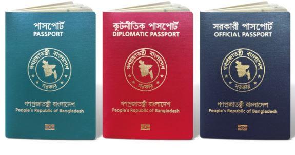 e-passport application